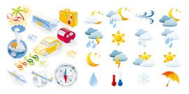 Travel and Weather icon