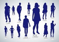 People Silhouette Vector Pack