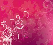 Free Pink Background with Swirls