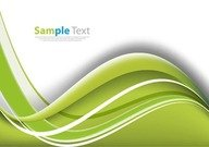 Ecology Wave Abstract Background