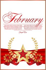 Red Five-pointed Star Bookmarks 02 Red Bookmarks