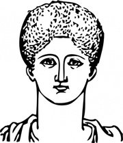 Grecian Hair Dressing