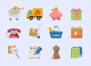 Charming Boutique Icons