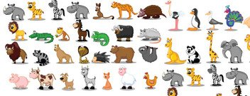 Animales cartoon