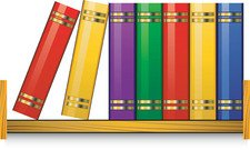 free bookshelf clipart and vector graphics clipart me rh clipart me library bookshelf clipart bookshelf clip art images