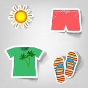 Vector Stickers mignon