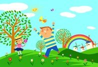 Children Environmental Vector 1