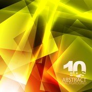 Yellow Dynamic Background