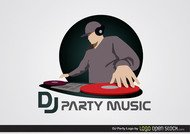 DJ Party Logo