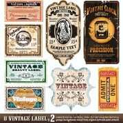 Vintage Wine Label Collection 06