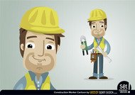 Construction Worker Character