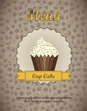 Continental menu template 22