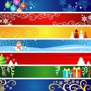Exquisite Christmas Banner