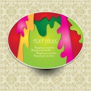 The Beautiful Sticker Label 01