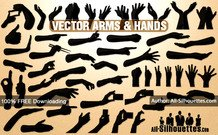 43 Vector hands & arms