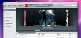 iTunes Inspired Music Player (PSD)