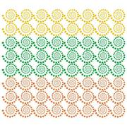 COLORFUL SWIRLED DOTS BACKGROUND.eps